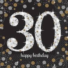 30th Birthday Supplies