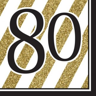80th Birthday Supplies
