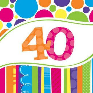 40th Birthday Supplies
