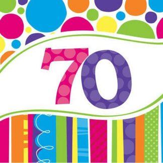 70th Birthday Supplies