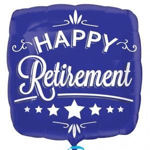 65th Birthday Retirement