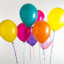Helium Balloons - Latex