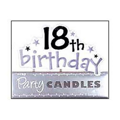 Happy 18th Birthday Candle