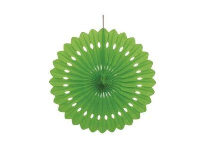 Tissue Paper Fan lime - 25cm