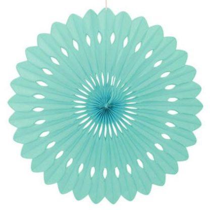 Tissue Paper Fan Mint - 40cm
