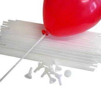 Balloon Cups & Canes Set 100pk