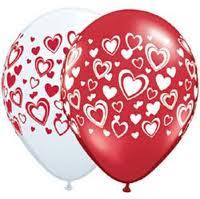 Balloon Single Hearts - Double Assorted
