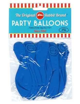 Party Balloons 12pk Blue