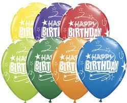 Balloon Single Happy Birthday Assorted (c)