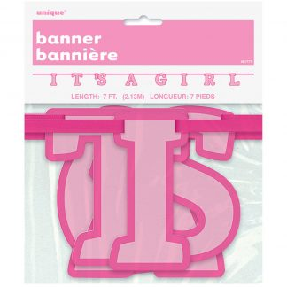 Hanging Banner - It's a girl