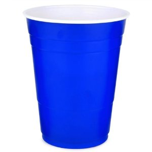 Blue Plastic Cups 50pk - Solo