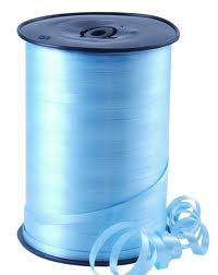 Curling Ribbon Baby Blue 91M