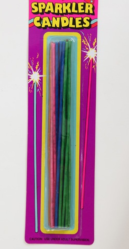 Candles Sparklers 18pk