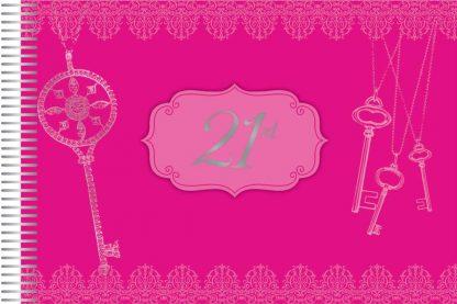 Autograph Book Pink 21st Birthday