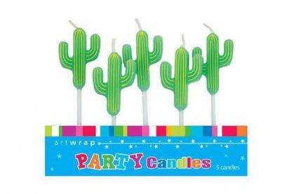 Candles Cactus Fiesta 5pk