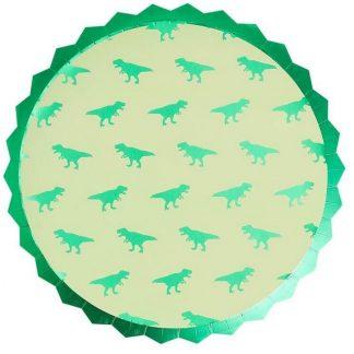 Dino Roarsome Plates 8pk
