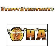 Halloween Banner Happy Halloween Jointed