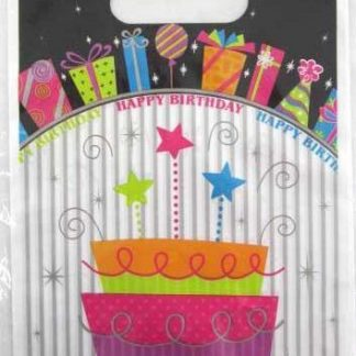 Happy Birthday Party Bags 10pk