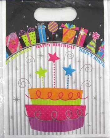 Happy Birthday Party Bags 10pk