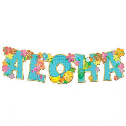 Aloha Streamer Banner