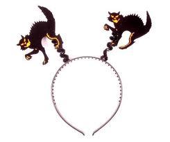 Halloween Headband Bopper Cat