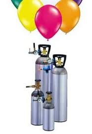 Helium Gas Tank Hire D - 100 balloons