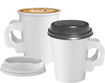 Coffee Cup 280ml with Handles