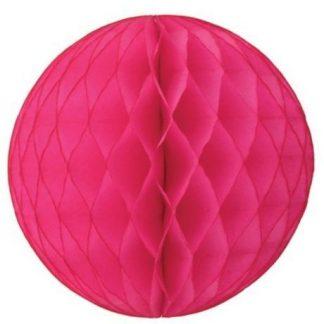 Honeycomb Ball Hot Pink 25cm