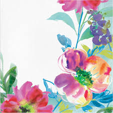Lunch Napkins 16pk - Floral