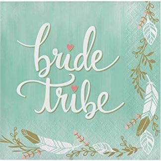 Mint To Be - Bride Tribe Napkins