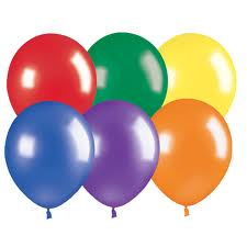 Party Balloons 100pk Assorted Colours