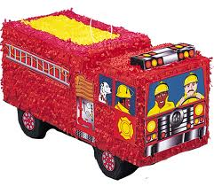 Piñata - Fire Engine