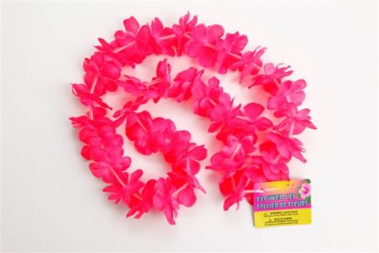 Hawaiian Leis - Flower Pink