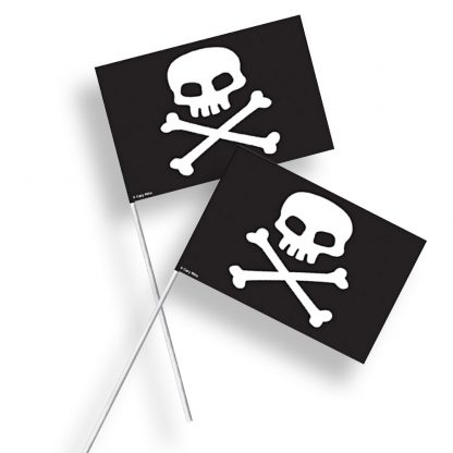 Pirate Flags 8pk