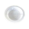 Plastic Bowl 18cm White 50pk