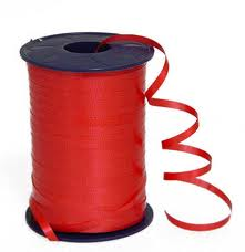 Curling Ribbon Red 91M