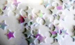 Scatter Confetti Stars Iridescent