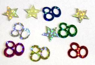 Scatter Confetti 80 Multi Mix
