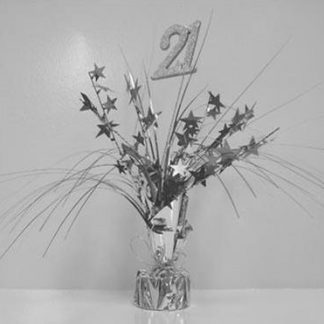 Spangle Table Centrepiece - 21st