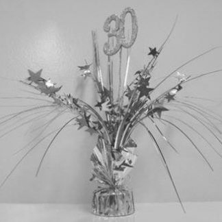 Spangle Table Centrepiece - 30th
