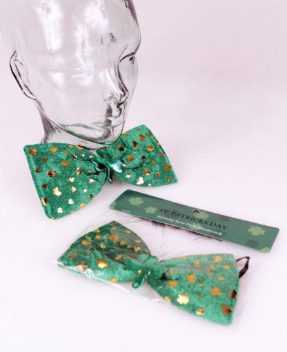 St. Patricks Day Bow Tie