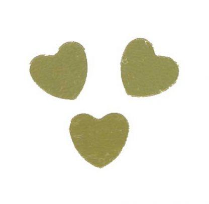 Scatter Confetti Heart Gold