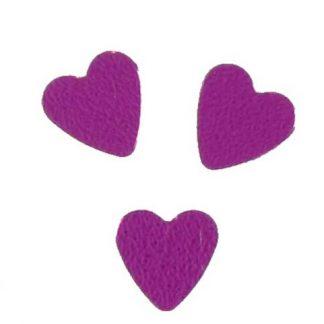 Scatter Confetti Heart Small Fuchsia