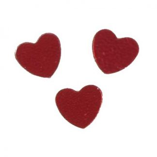 Scatter Confetti Heart Small Red