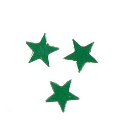 Scatter Confetti Star Small Emerald Green