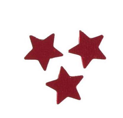 Scatter Confetti Star Small Red