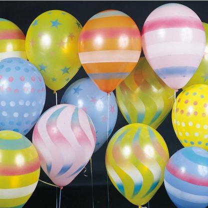 Balloon Single Carnival Sprays Assorted