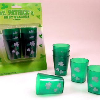 St. Patricks Shot Glasses 6pk