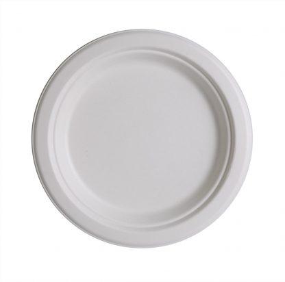 """Sugar Cane Plate 7"""" 50pk"""