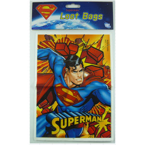 Superman Lootbags 8pk